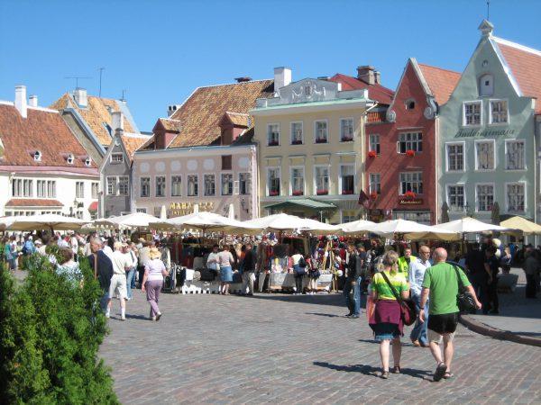 エストニア旧市街