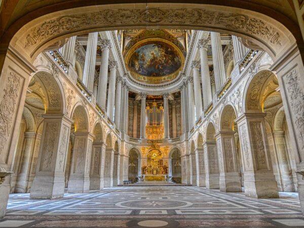 王室礼拝堂_ヴェルサイユ宮殿