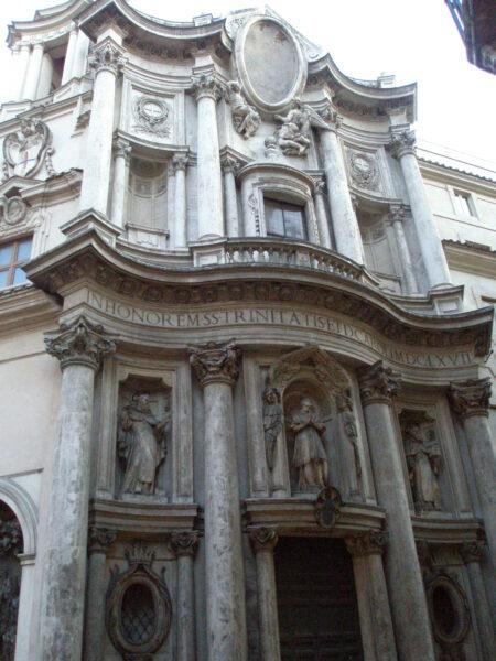 サン・カルロ・アッレ・クワァットロ・フォンターネ教会堂