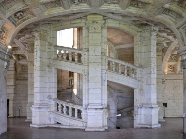 ジャンボール城階段